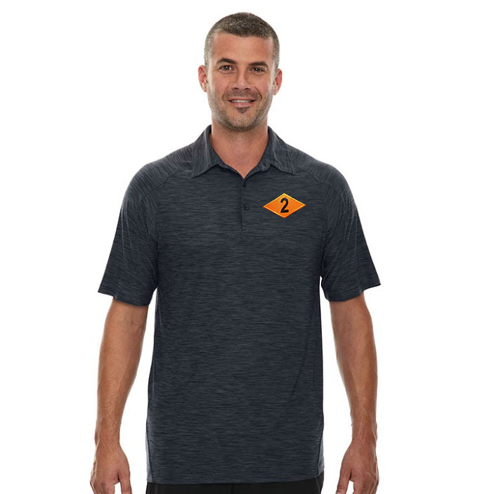 deuce diamond performance stretch polo