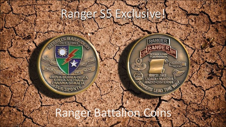 3/75th Rgr Regt Coin