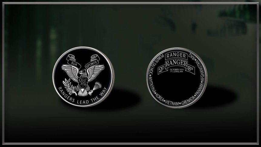 2/75 RGR BN GWOT Coin