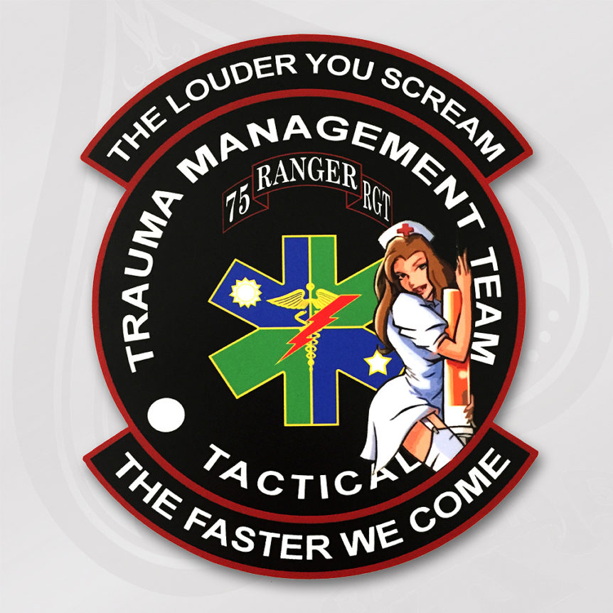 75th RGR RGT Tactical Trauma Management Team
